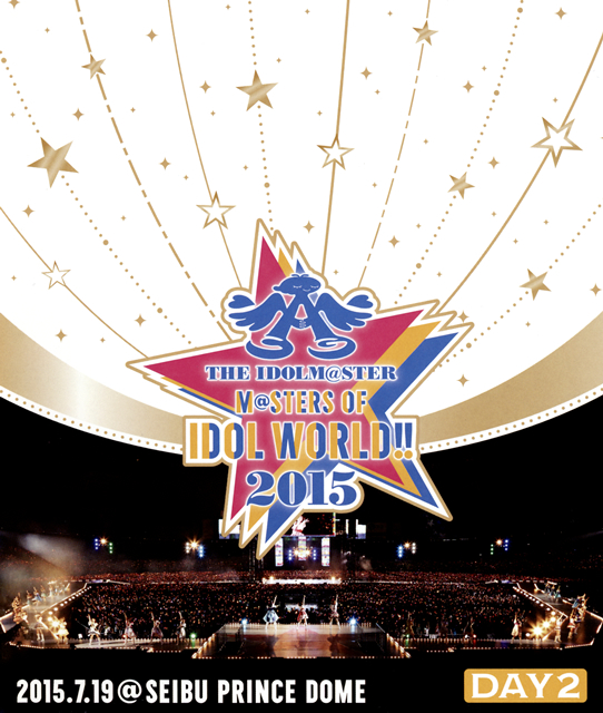 THE IDOLM@STER M@STERS OF IDOL WORLD!!2015 DAY2 2015.7.19〈2枚組〉 [Blu-ray]