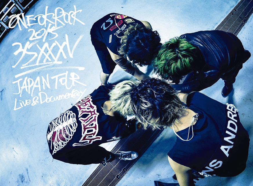 "ONE OK ROCK/ONE OK ROCK 2015""35xxxv""JAPAN TOUR LIVE&DOCUMENTARY〈2枚組〉 [DVD]"