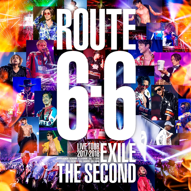 "EXILE THE SECOND / LIVE TOUR 2017-2018""ROUTE 6・6""〈初回生産限定盤・2枚組〉 [Blu-ray]"