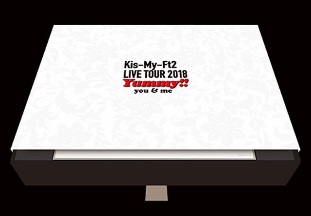 Kis-My-Ft2/LIVE TOUR 2018 Yummy!!you&me〈初回盤・3枚組〉 [DVD]