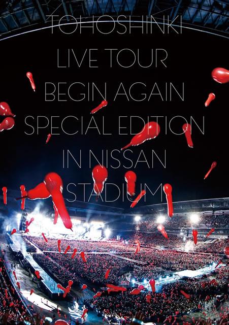 東方神起/LIVE TOUR〜Begin Again〜Special Edition in NISSAN STADIUM〈3枚組〉 [DVD]