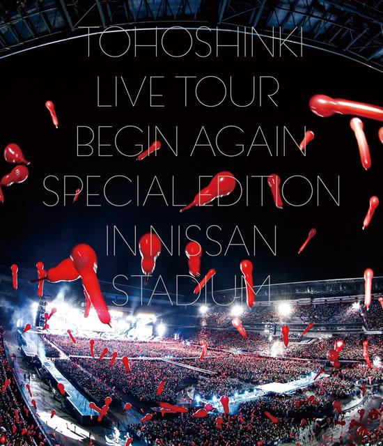 東方神起/LIVE TOUR〜Begin Again〜Special Edition in NISSAN STADIUM〈2枚組〉 [Blu-ray]