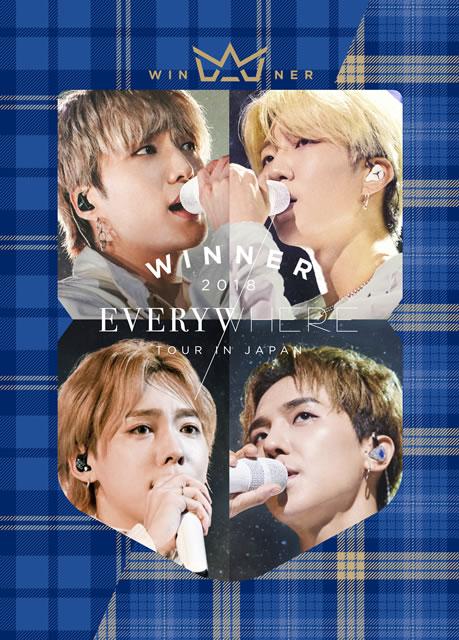 WINNER/WINNER 2018 EVERYWHERE TOUR IN JAPAN〈初回生産限定盤・4枚組〉 [DVD]