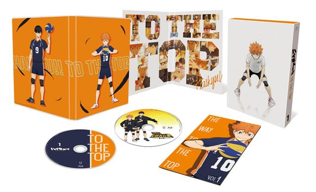 ハイキュー!!TO THE TOP Vol.1〈2枚組〉 [DVD]