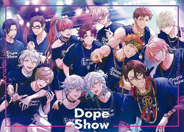 Paradox Live Dope Show-2021.3.20 LINE CUBE SHIBUYA〈2枚組〉 [Blu-ray]