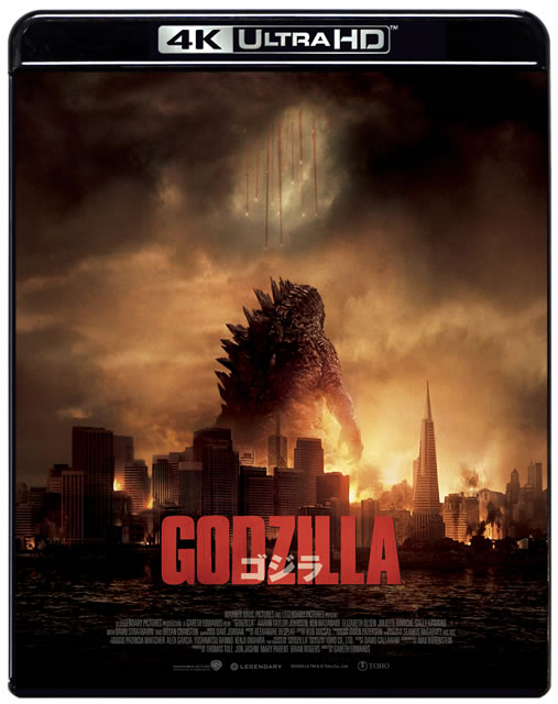 GODZILLA[2014] 4K Ultra HD Blu-ray [Ultra HD Blu-ray]
