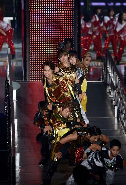 exile tribe perfect year 2014 を締めくくるドーム ツアー 東京公演が