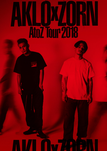 AKLOとZORNが〈A to Z TOUR 2018〉の追加公演を開催