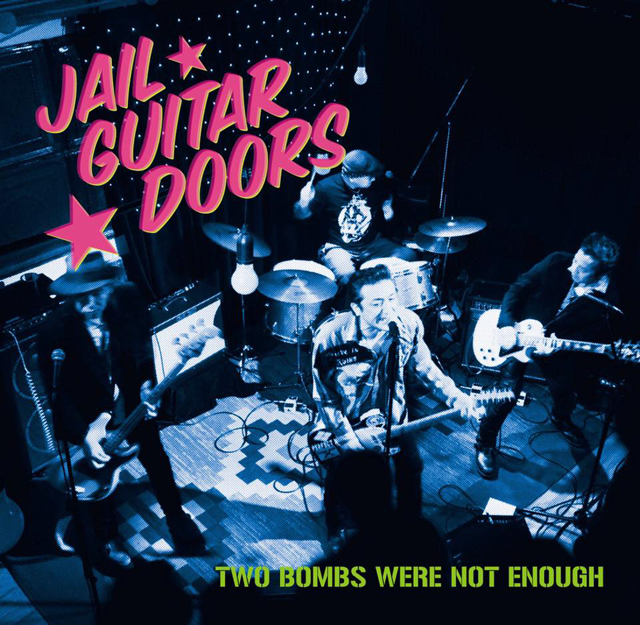 JAIL GUITAR DOORS、新作7inchをリリース 〈GAIN GROUND TOUR〉開催決定