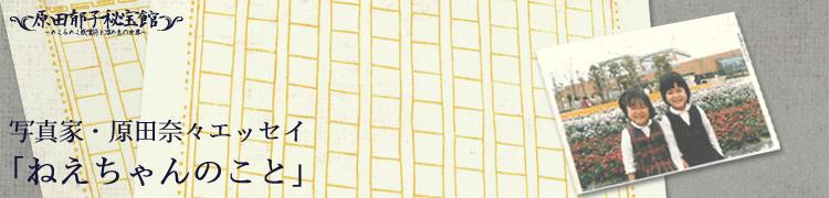 アルバム『ケモノと魔法』発売記念 8週間集中連載『原田郁子秘宝館 ドキッ! 〜めくるめく感嘆符と溜め息の世界〜』 第3回:写真家・原田奈々エッセイ「ねえちゃんのこと」
