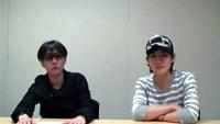 いしわたり淳治&砂原良徳からCDJournal.com読者へのメッセージ
